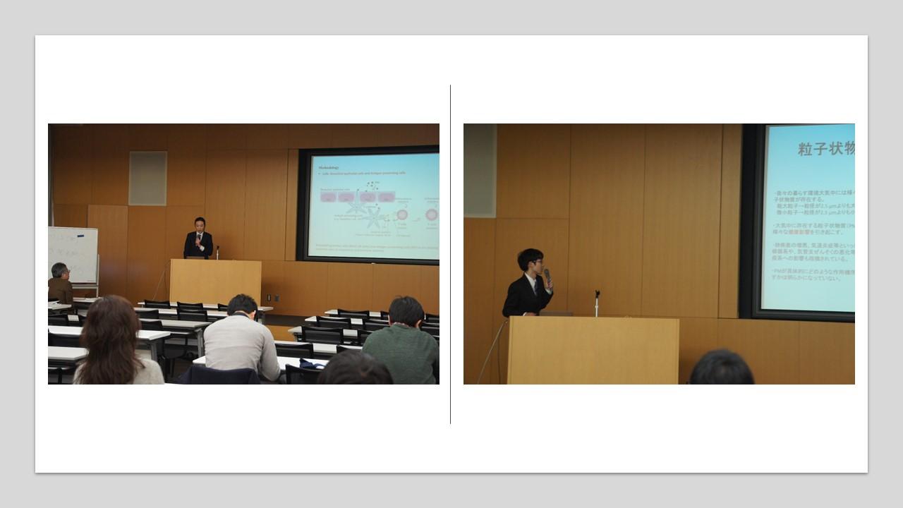 都市環境工学専攻修士論文公聴会を開催しました(2020年2月18、19日)